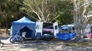 Camping at 1770