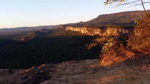 Dawn over Carnarvon Gorge